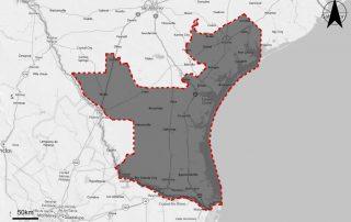 South Texas FEMA LiDAR Map