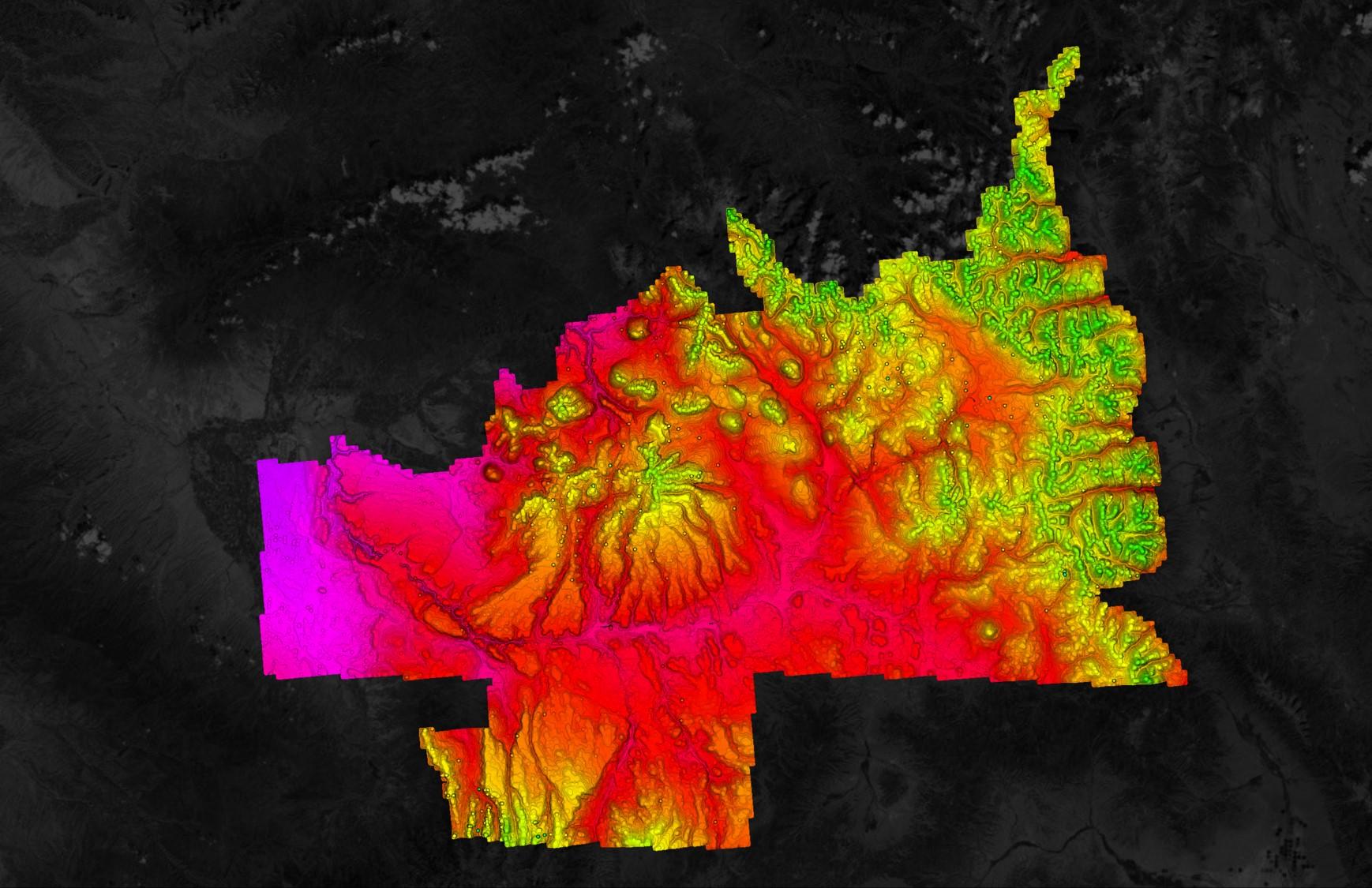 USGS Point Cloud in Equator Colorado2