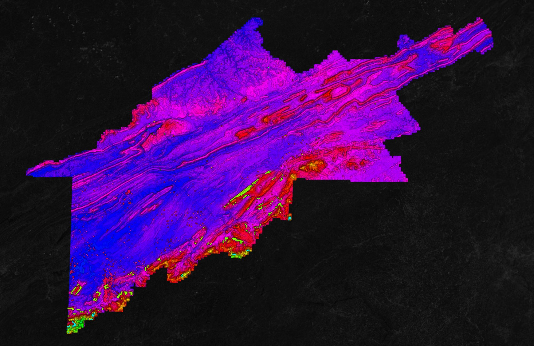 USGS Point Cloud in Equator Tennessee