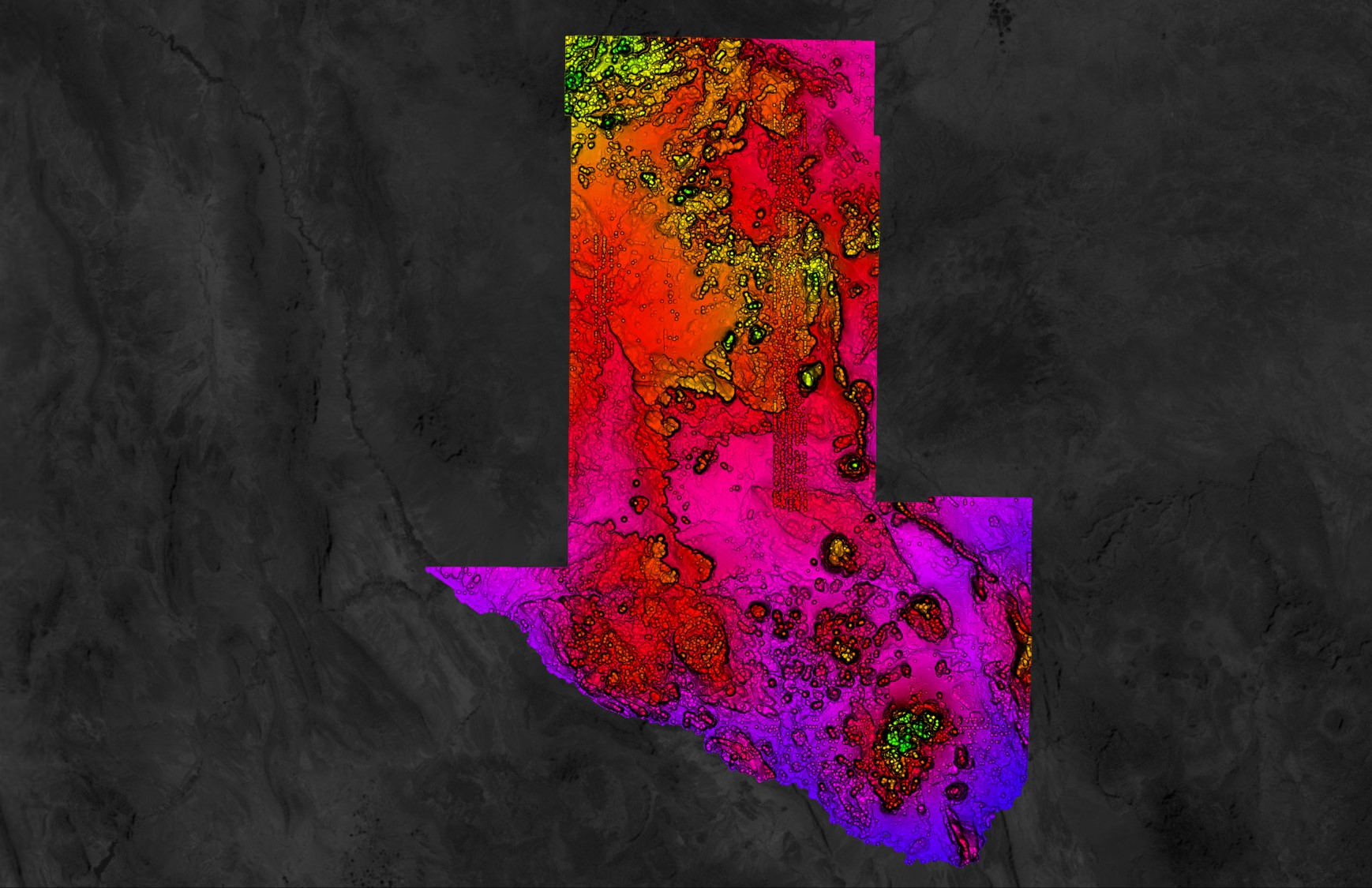 USGS Point Cloud in Equator Texas