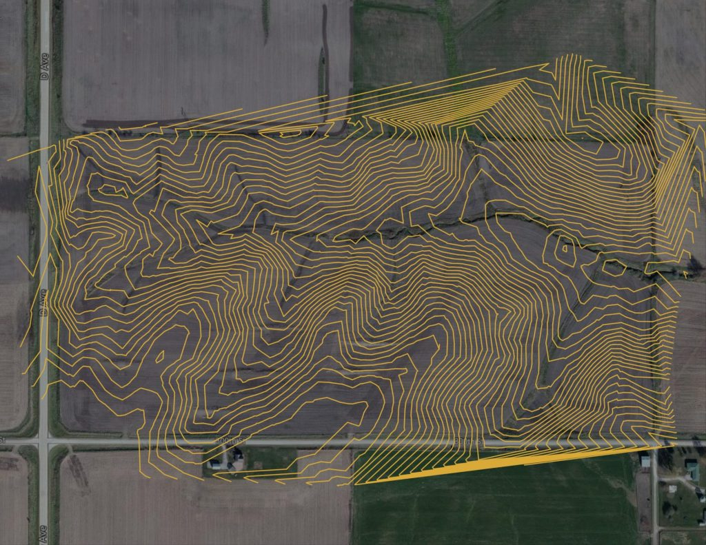 Google Earth Contours
